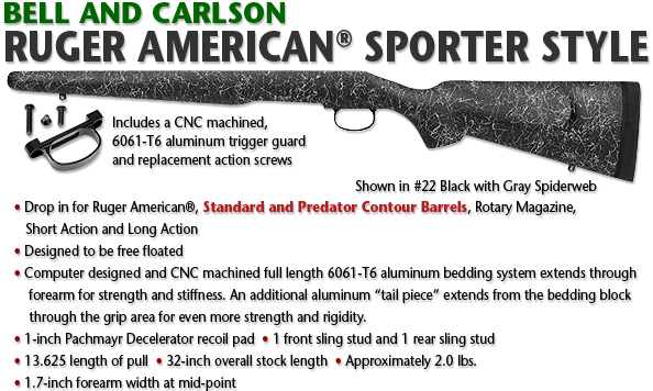 Bell and Carlson Ruger American Sporter Style