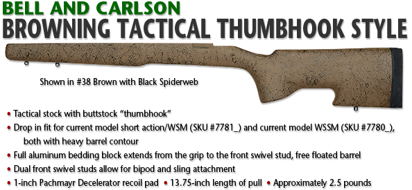 Browning Tactical Thumbhook Style